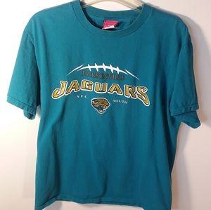 C037 NFL t-shirt, aqua, Jacksonville JAGUARS